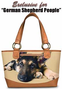 German Shepherd handbags