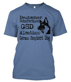 Limited Edition GSD Tshirt