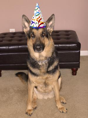 Celebrating his 4th birthday